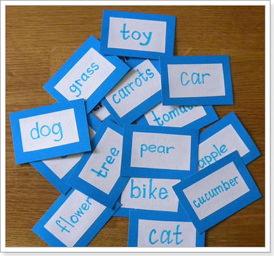 Карточки английских слов