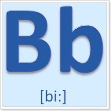 Карточка с буквами английского алфавита купить