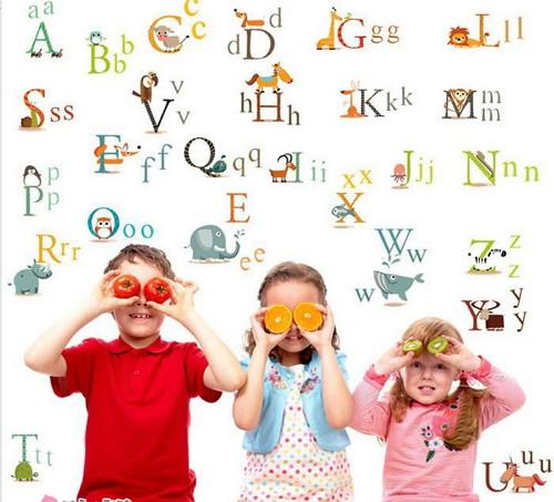 Раскраска алфавита для детей