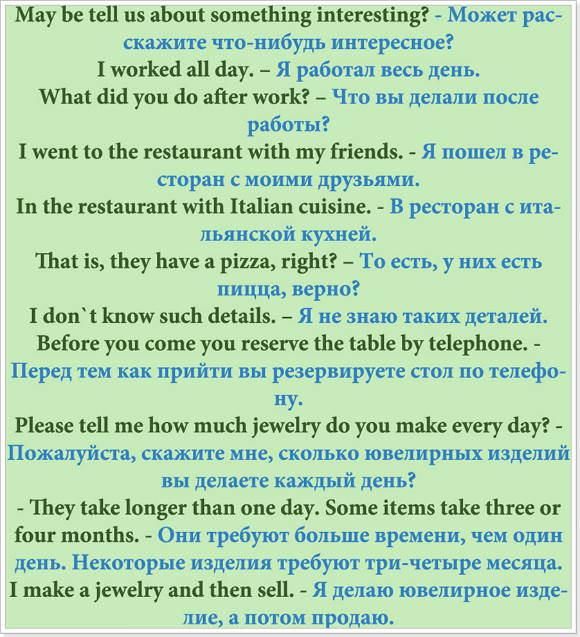 Полиглот-фразы