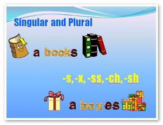 Существительные множественного числа примеры