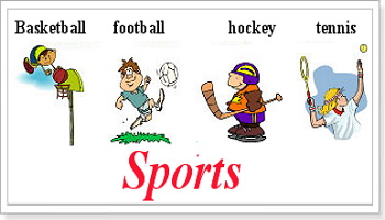 Название видов спорта по английски