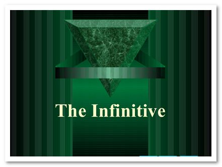 the_infinitive