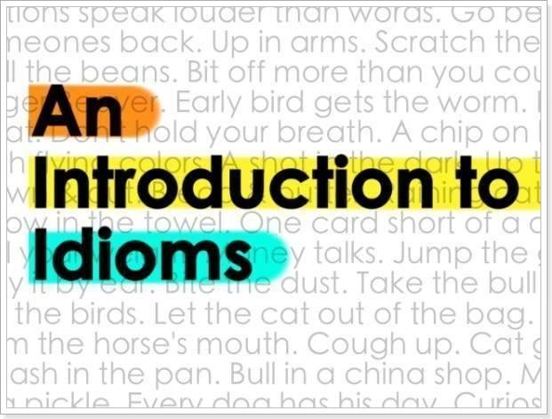 Идиомы скачать 2016 английский язык
