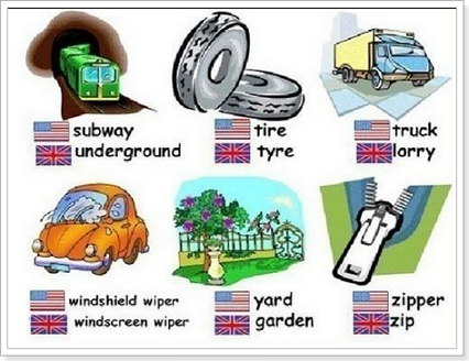 Варианты английского