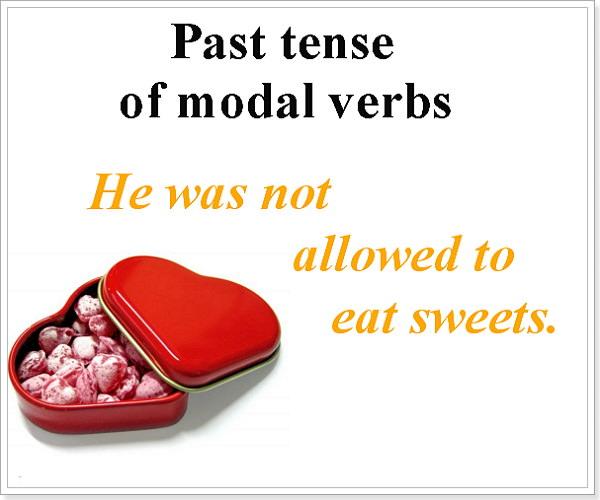 Простое прошедшее предложенте с модальгымт глаголами