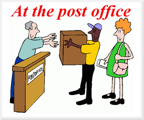 Предложения на английском Тема почта