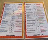 Заказ блюд из меню на английском