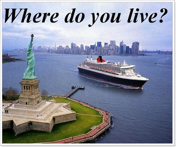 Где ты живешь по английский?