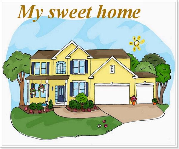 Розповідь про свій дім на англійській