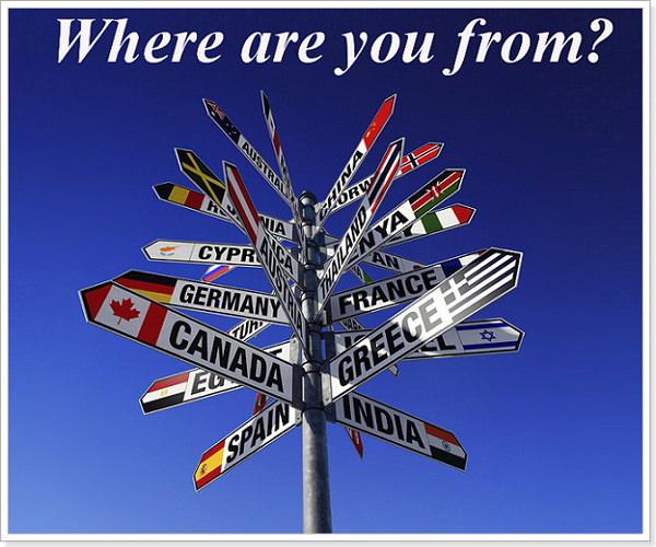 Как будет на английском вы откуда?
