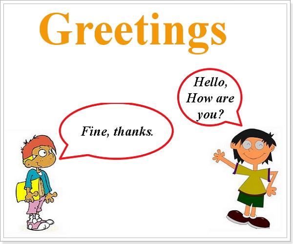 фразы по английски приветствие знакомство на английском языке