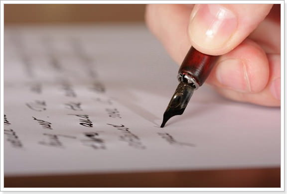 Письмо по англ языку пример