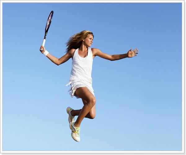 Вы играете в теннис по английскому