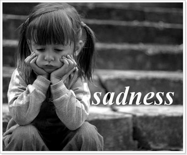 Текст о грусти на английском