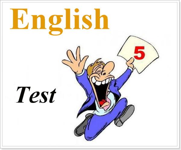 Контрольная по английскому