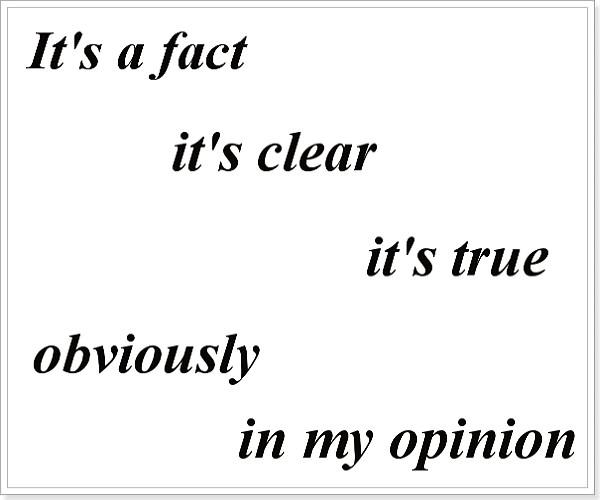 Реальные факты на английском