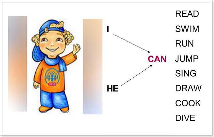 Неправильный глагол can