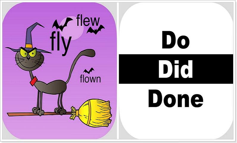 Четыре формы неправильного глагола