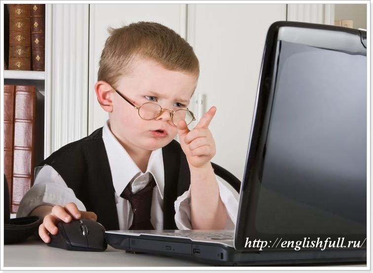 Онлайн уроки английского языка для детей
