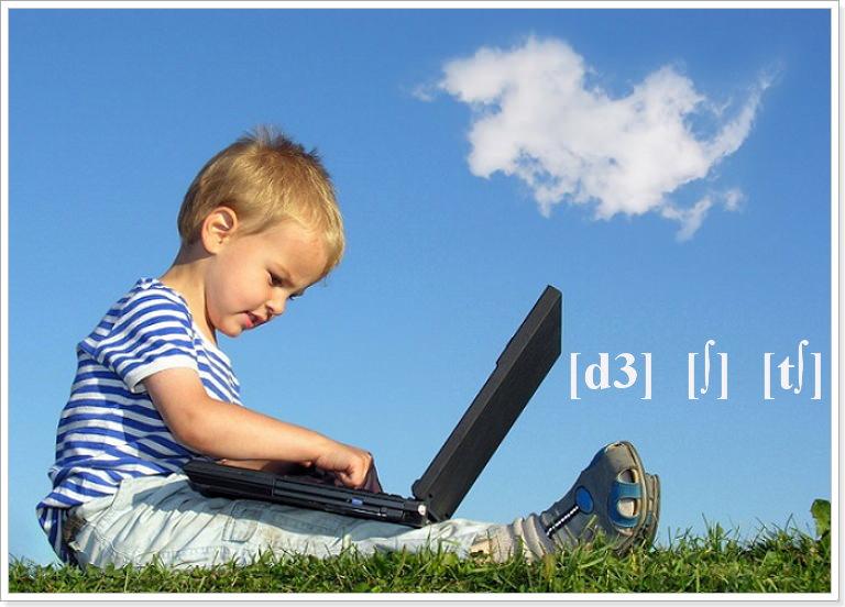 Учим транскрипцию английского с детьми
