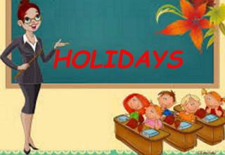 каникулы урок по английскому