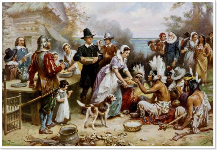 история дня благодарения