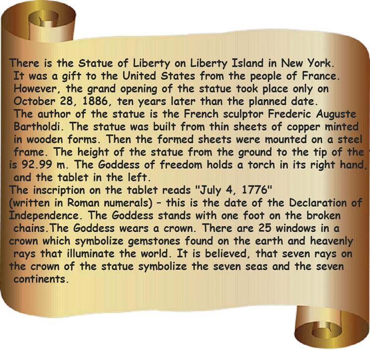 Статуя свободы – загадка истории