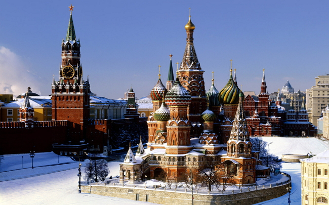 О Москве по-английски