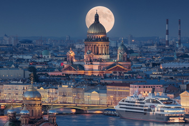 Санкт-Петербург – сложен для произношения, но приятен взору